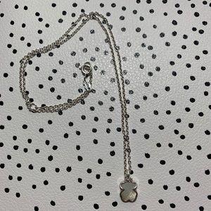 Original Tous necklace white gem